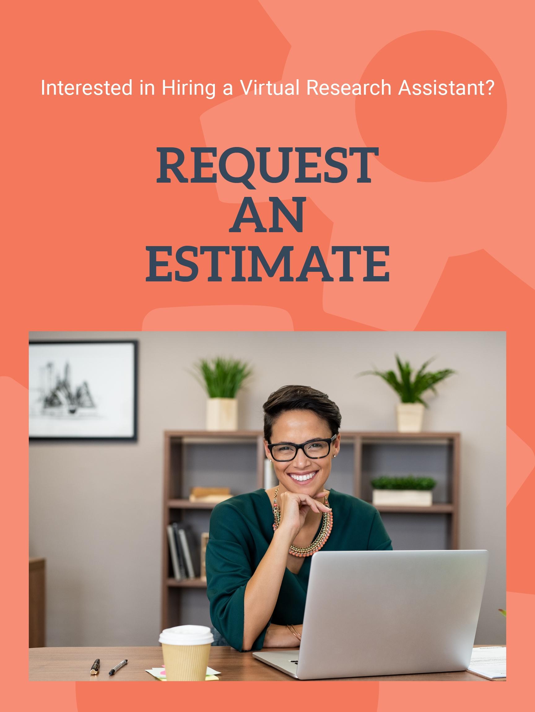 Request a Research Assistant Estimate