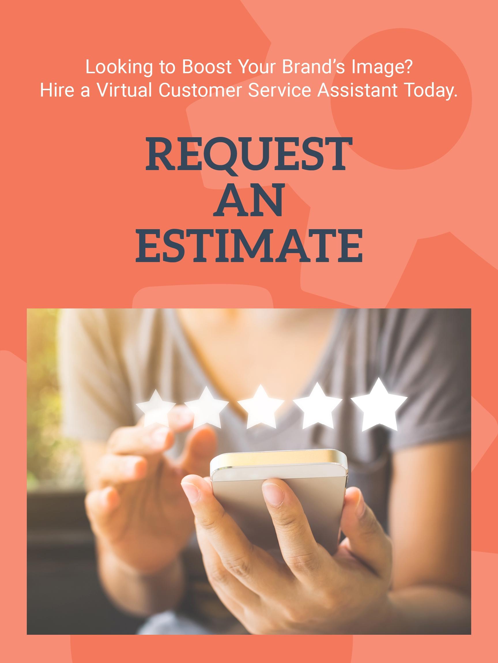 Request a Virtual Customer Service Assistant Estimate