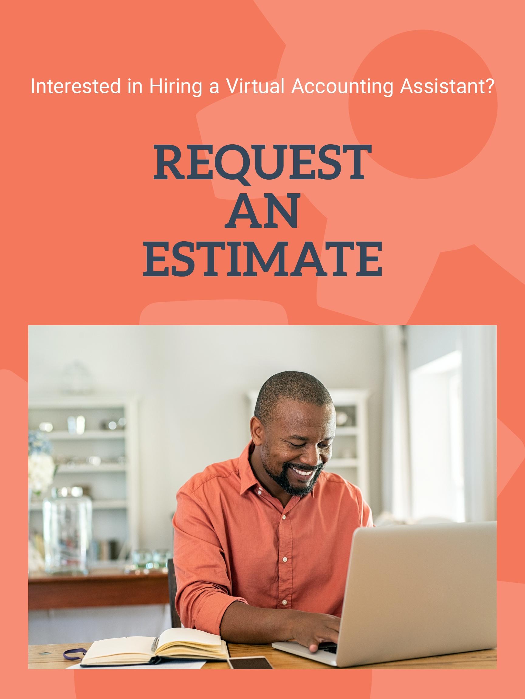 Request an Estimate Bookkeeper